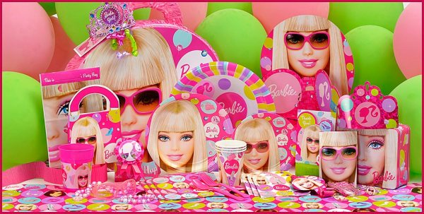 Barbie Party Theme