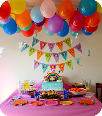 RAINBOW THEME PARTY 2