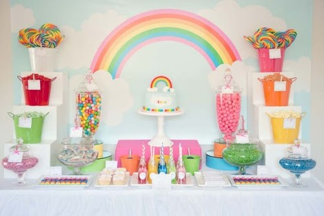 RAINBOW THEME PARTY