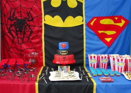 SUPERHERO THEME PARTY 2
