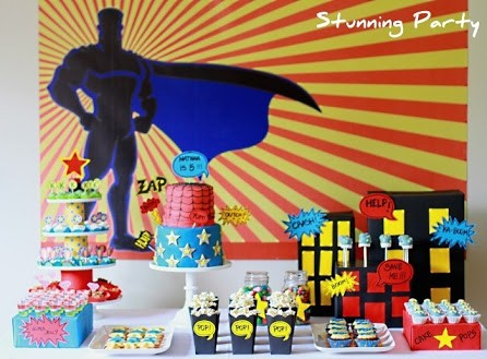 SUPERHERO THEME PARTY
