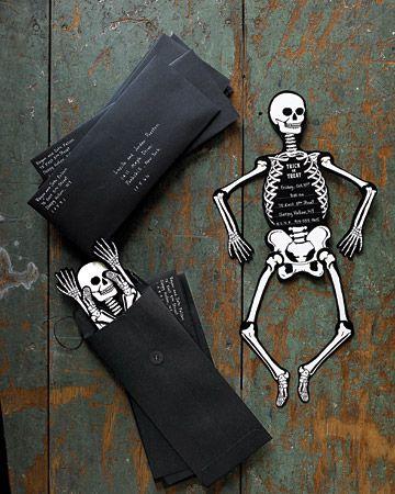 Halloween invitation