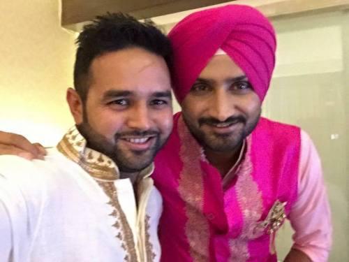Harbhajan Singh Engagement (1)