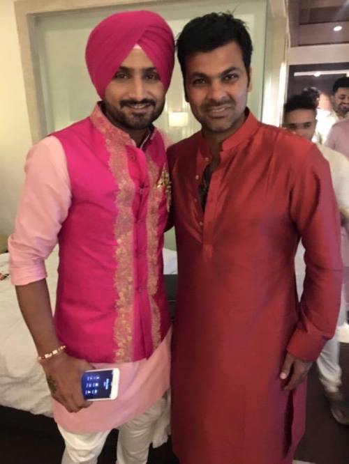 Harbhajan Singh Engagement (2)