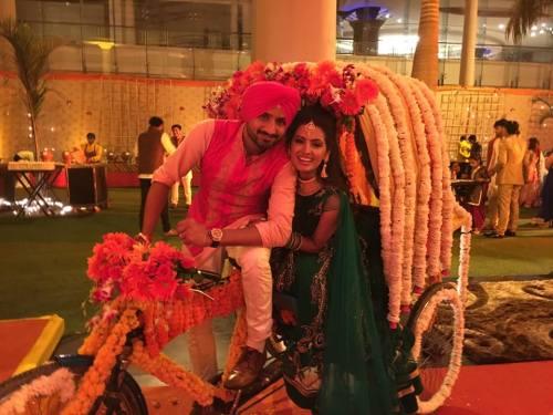 Harbhajan Singh Engagement (6)