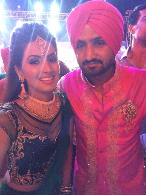 Harbhajan Singh Engagement (8)