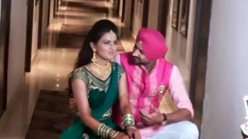Harbhajan Singh Engagement (9)