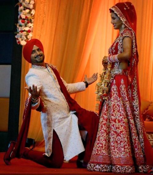 Harbhajan Singh Wedding (7)