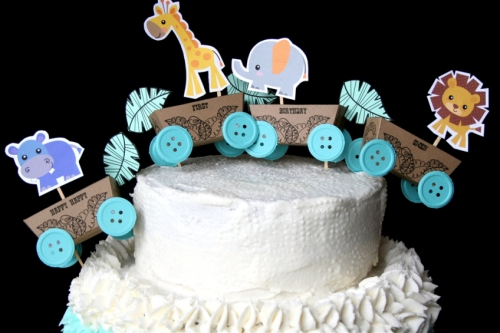 Baby Owen's Bday cake