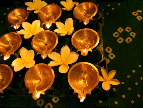 Diyas decoration