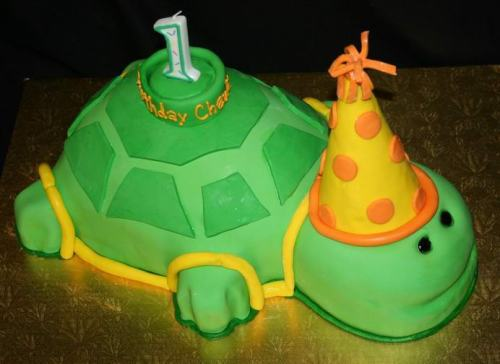 first_birthday_turtle_birthday_cake2