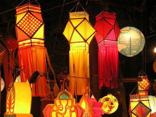 lanterns..