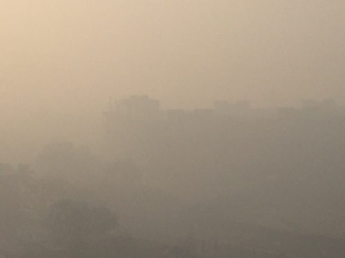Smog due to crackers