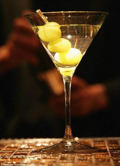 Bone Dry Martini