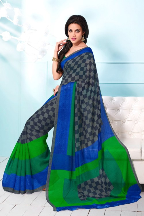 linen saree - 8 Cool Outfit Ideas for Newly Married Brides!