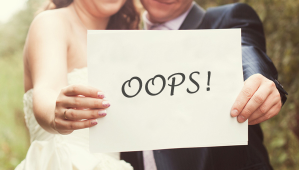 How Soon Before A Wedding Should You Send Out Invitations: 5 Wedding Blunders You Need To Avert!