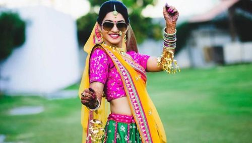 Swag of an Indian Bride