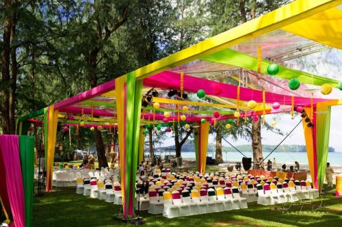 Image result for vibrant colors at indian weddings