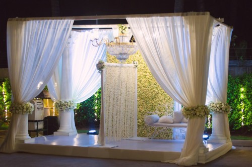 image result for gorgeous florals at indian weddings