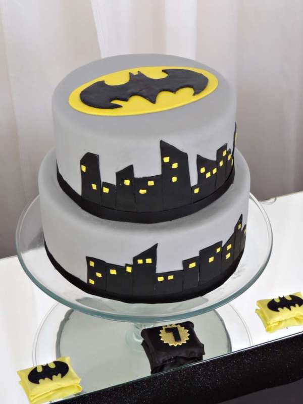 Batman Theme Birthday Party 6