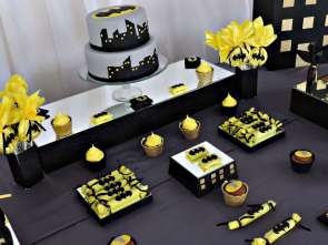 Batman Theme Birthday Party 8
