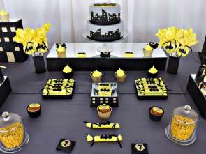 Batman Theme Birthday Party 9