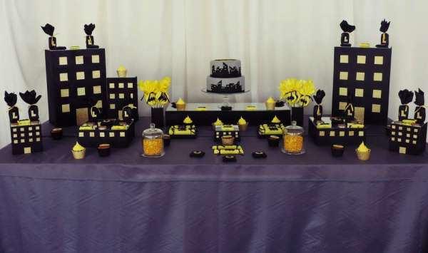 Batman Theme Birthday Party