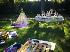 Camping Theme Birthday Party 1