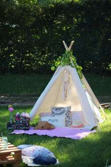 Camping Theme Birthday Party 13