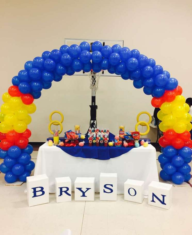 Cartoon Theme Birthday Party Decoration