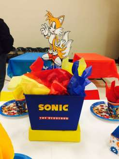 Cartoon Theme Birthday Party Table Decoration 3