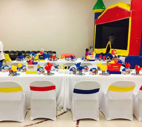 Cartoon Theme Birthday Party Table Decoration 5