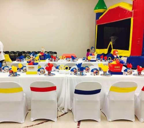 Cartoon Theme Birthday Party Table Decoration 5