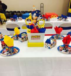 Cartoon Theme Birthday Party Table Decoration