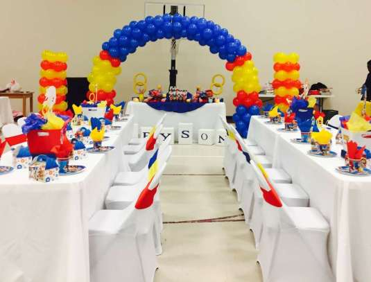 Cartoon Theme Birthday Party