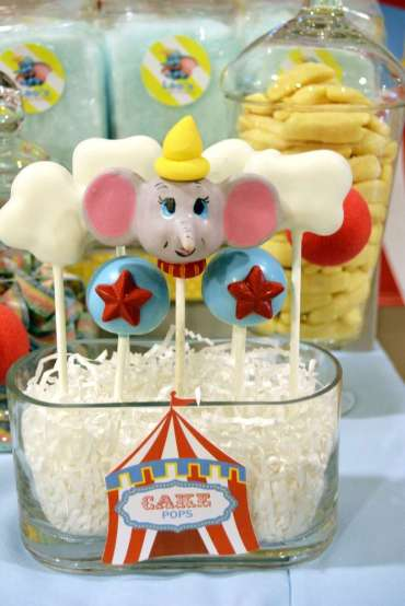 Circus Theme Birthday Party 3