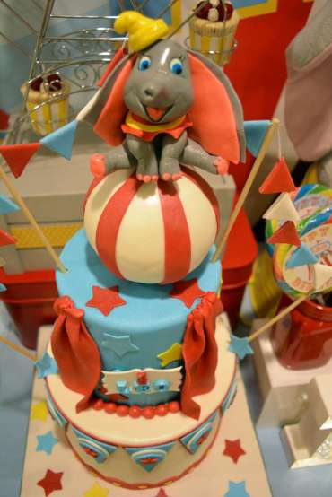 Circus Theme Birthday Party Cake 3