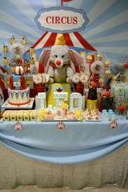 Circus Theme Birthday Party Decor 10