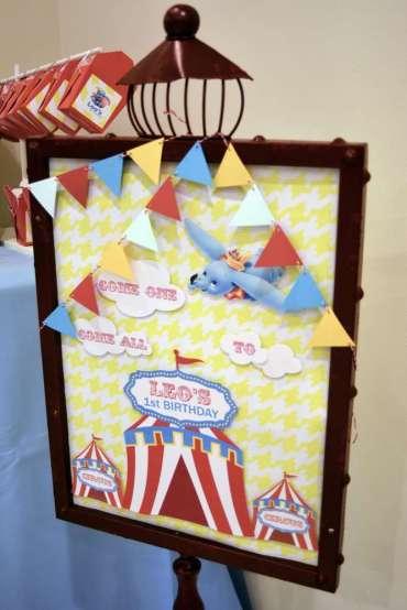 Circus Theme Birthday Party Decor