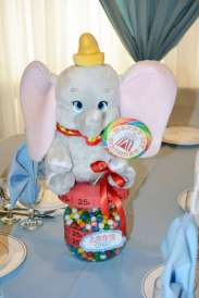 Circus Theme Birthday Party Table Decor