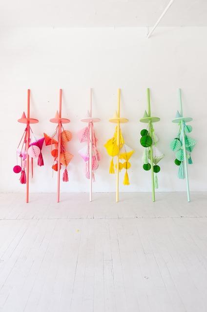 Multicoloured Balloon Theme Decoration 17