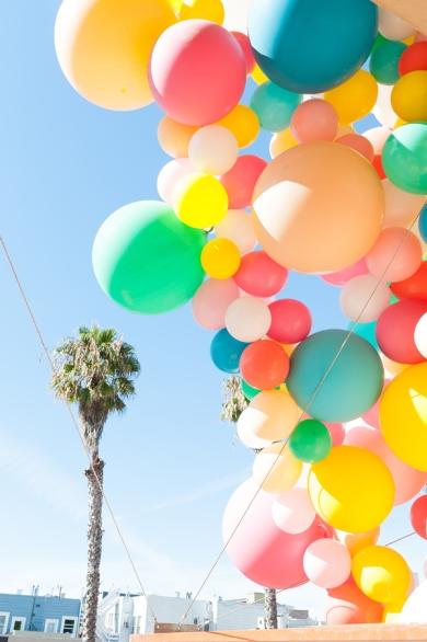 Multicoloured Balloon Theme Decoration 8