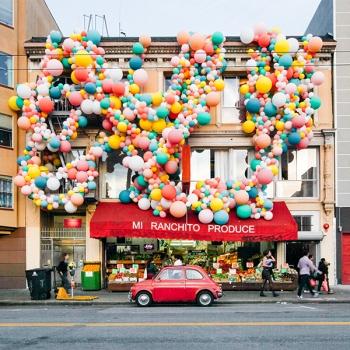 Multicoloured Balloon Theme Decoration