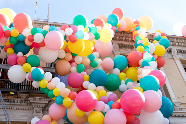 Multicoloured Balloon Theme Decoration 6