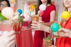 Multicoloured Balloon Theme Decoration food 2