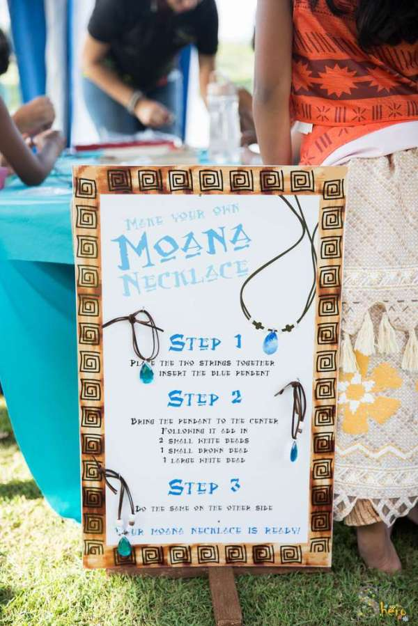 7 Year Old S Moana Theme Birthday Party Venuemonk Blog