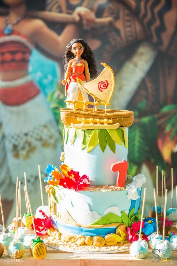 7 Year Olds Moana Theme Birthday Party