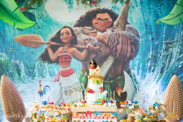 Moana Theme Birthday Party Venue 1