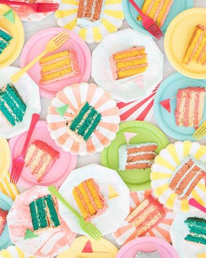 Multicoloured Balloon Theme Decoration food 1