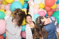 Multicoloured Balloon Theme Decoration photobooth